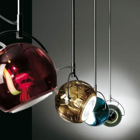 Fabbian Beluga Colour - lámpara colgante de diseño