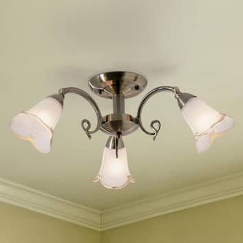 Iøynefallende taklampe Dalin, 3 lys