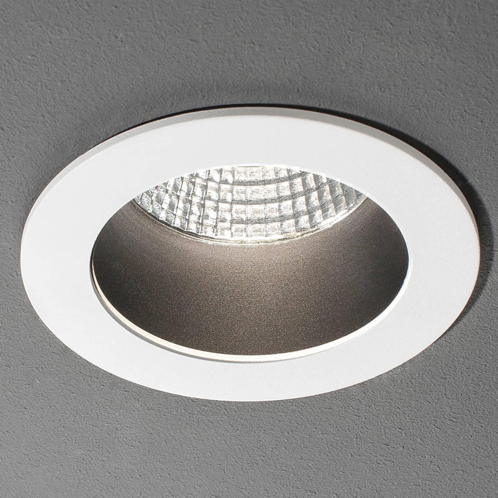 Spot encastrable LED Look Round big, blanc