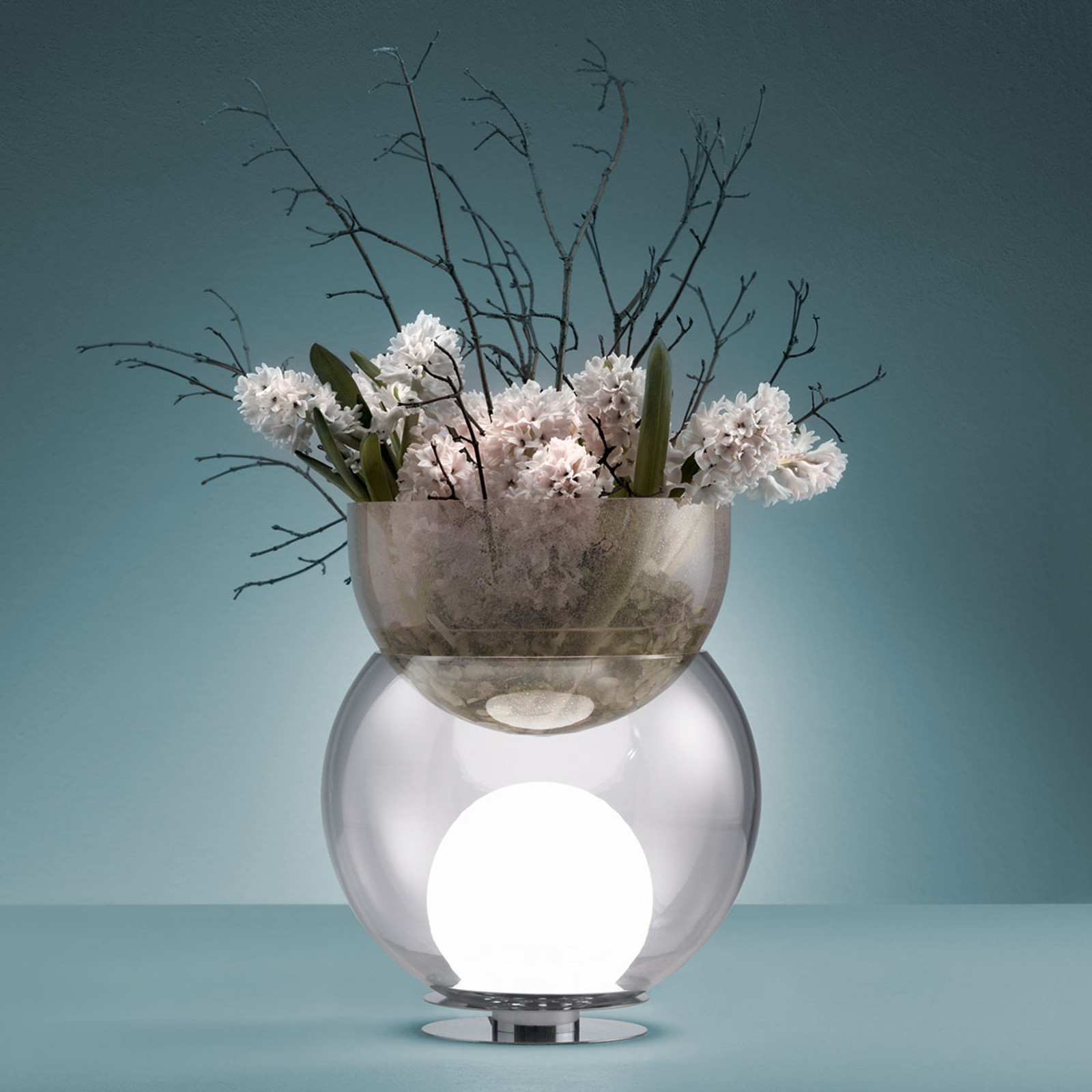 Decoratieve tafellamp Giova, 32 cm