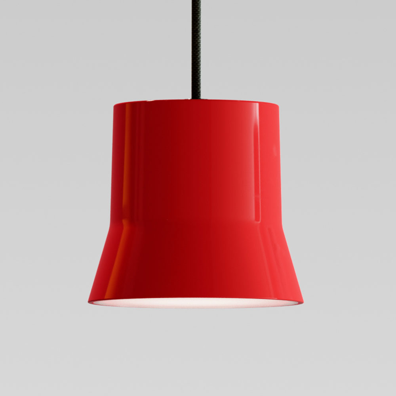 Artemide GIO.light LED-Hängeleuchte, rot