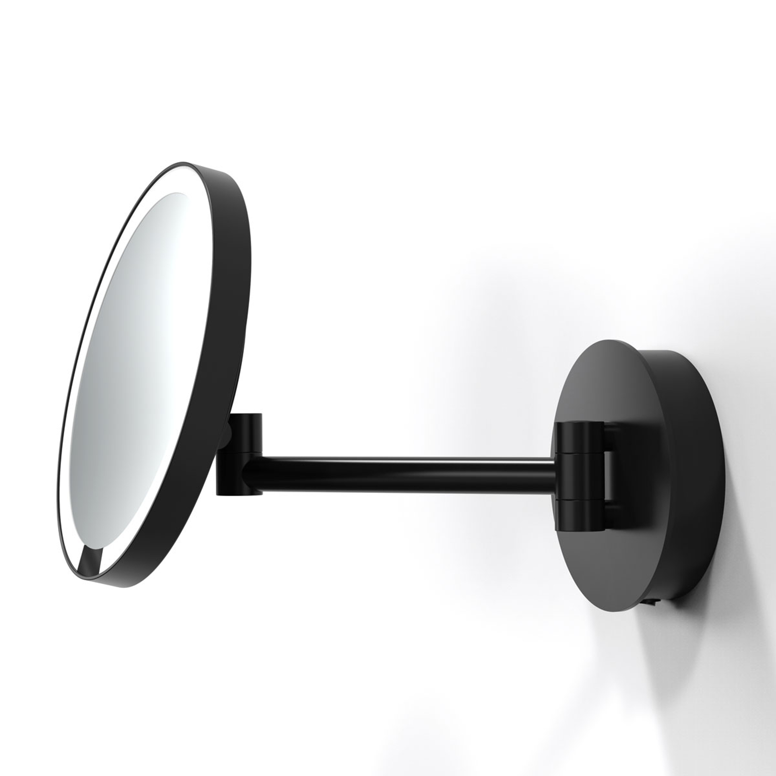 Decor Walther Just Look R LED-veggspeil, svart