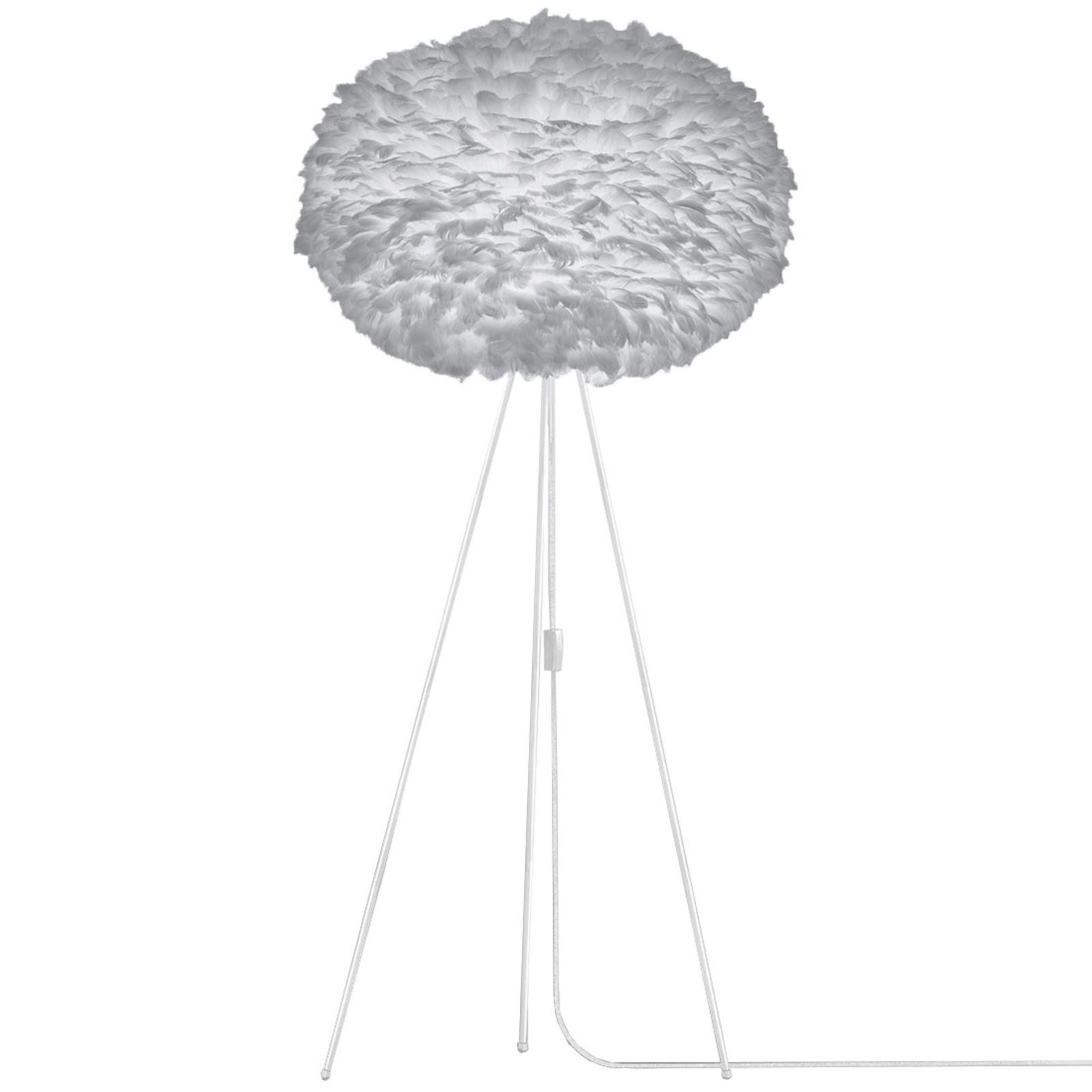 UMAGE Eos X-large standerlampe, tre ben, lysegrå