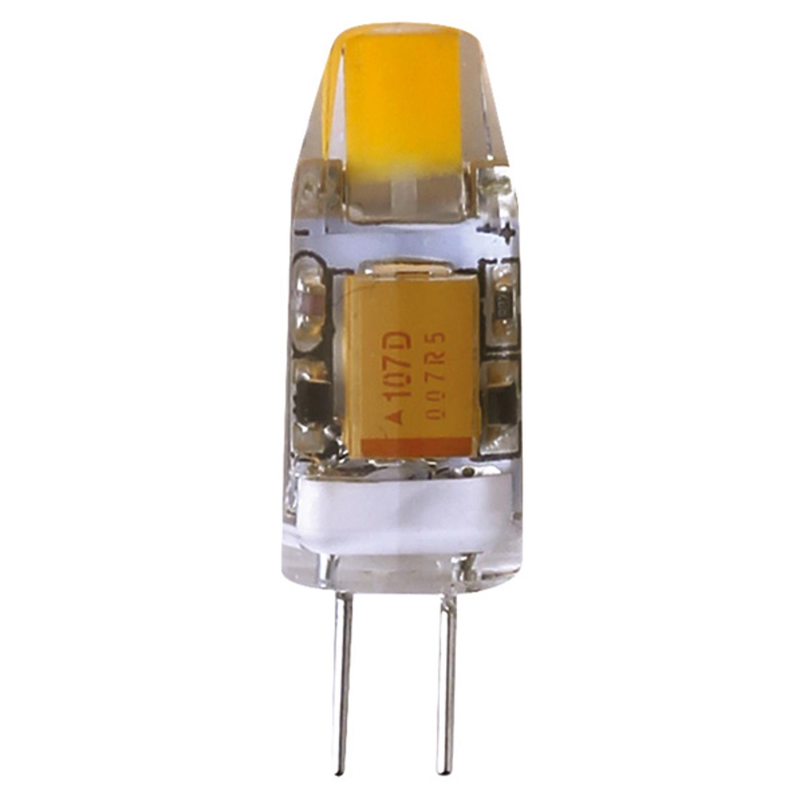 Lampadina con attacco a spina LED 828 1,2W G4