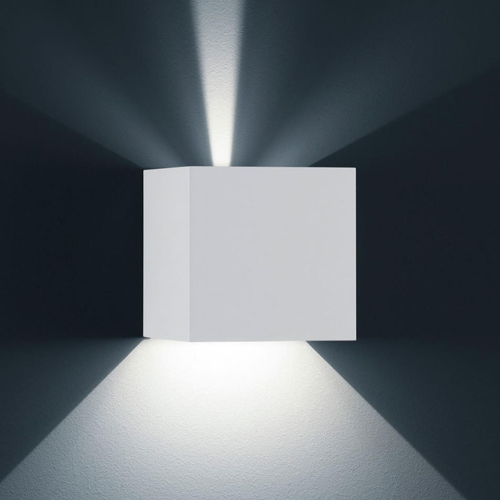 Helestra Siri 44 L Außenwandlampe up/down weiß