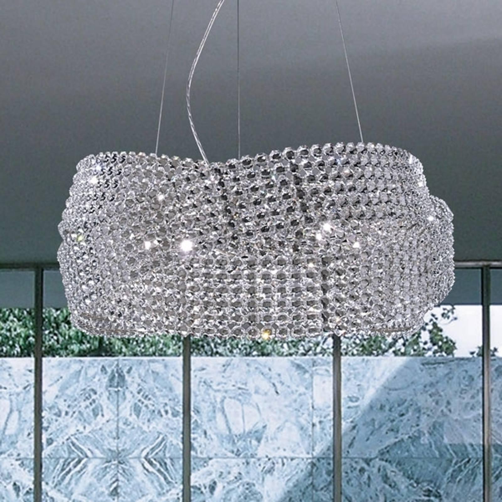 Suspension en cristal DIAMANTE Ø 95 cm