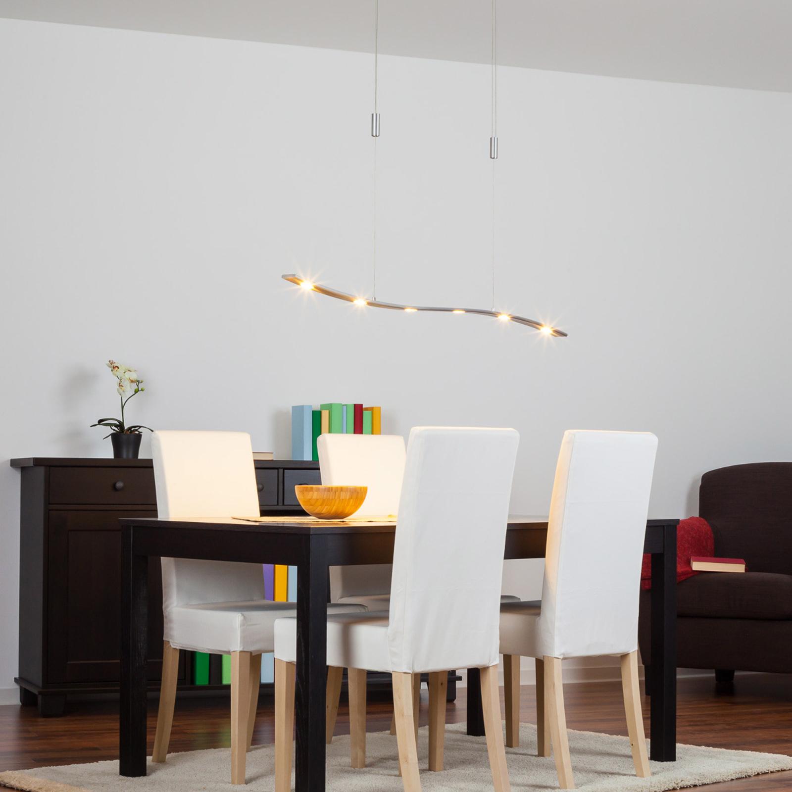 Höhenverstellbare LED-Hängeleuchte Xalu, 120 cm