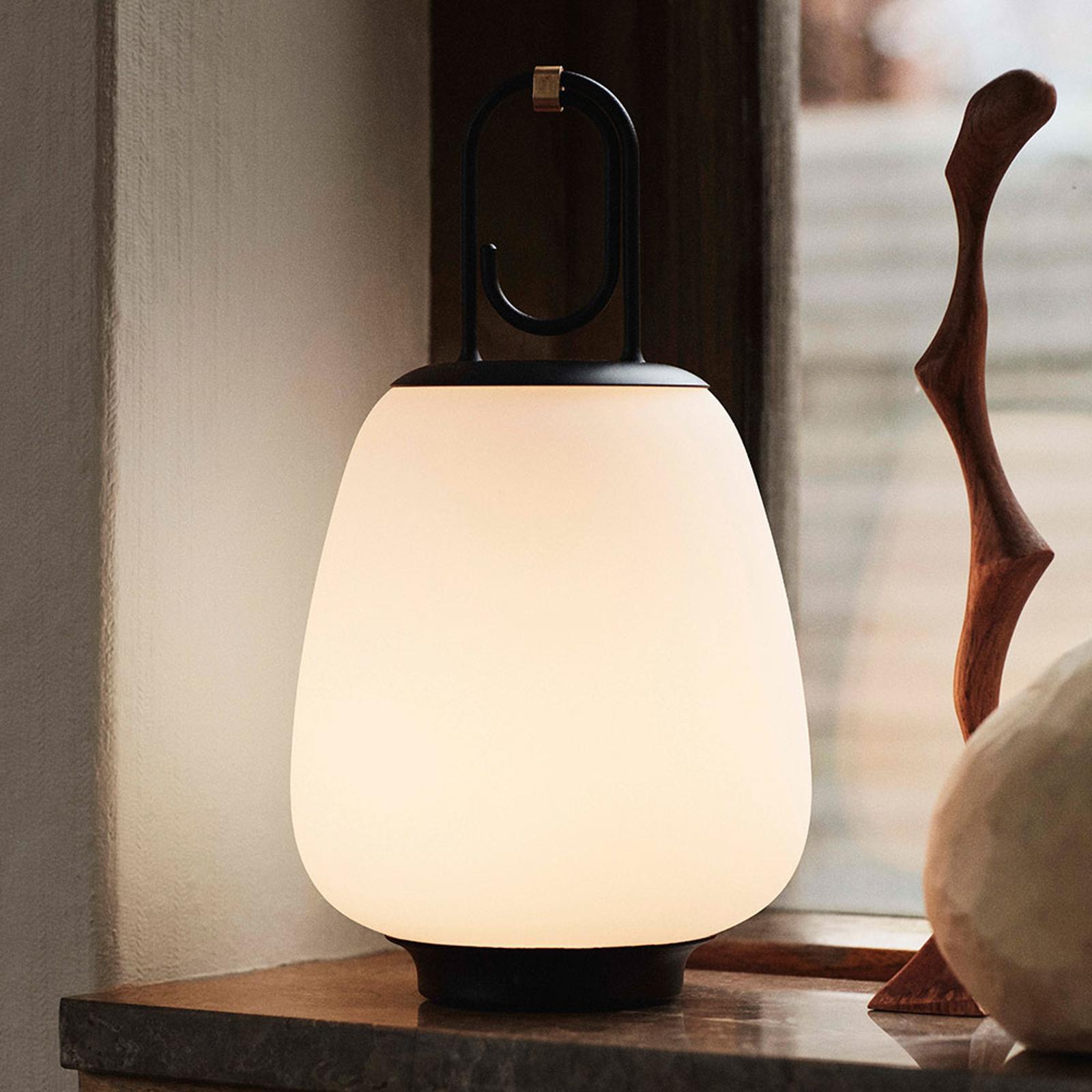 &Tradition Lucca SC51 bordslampa IP44 svart