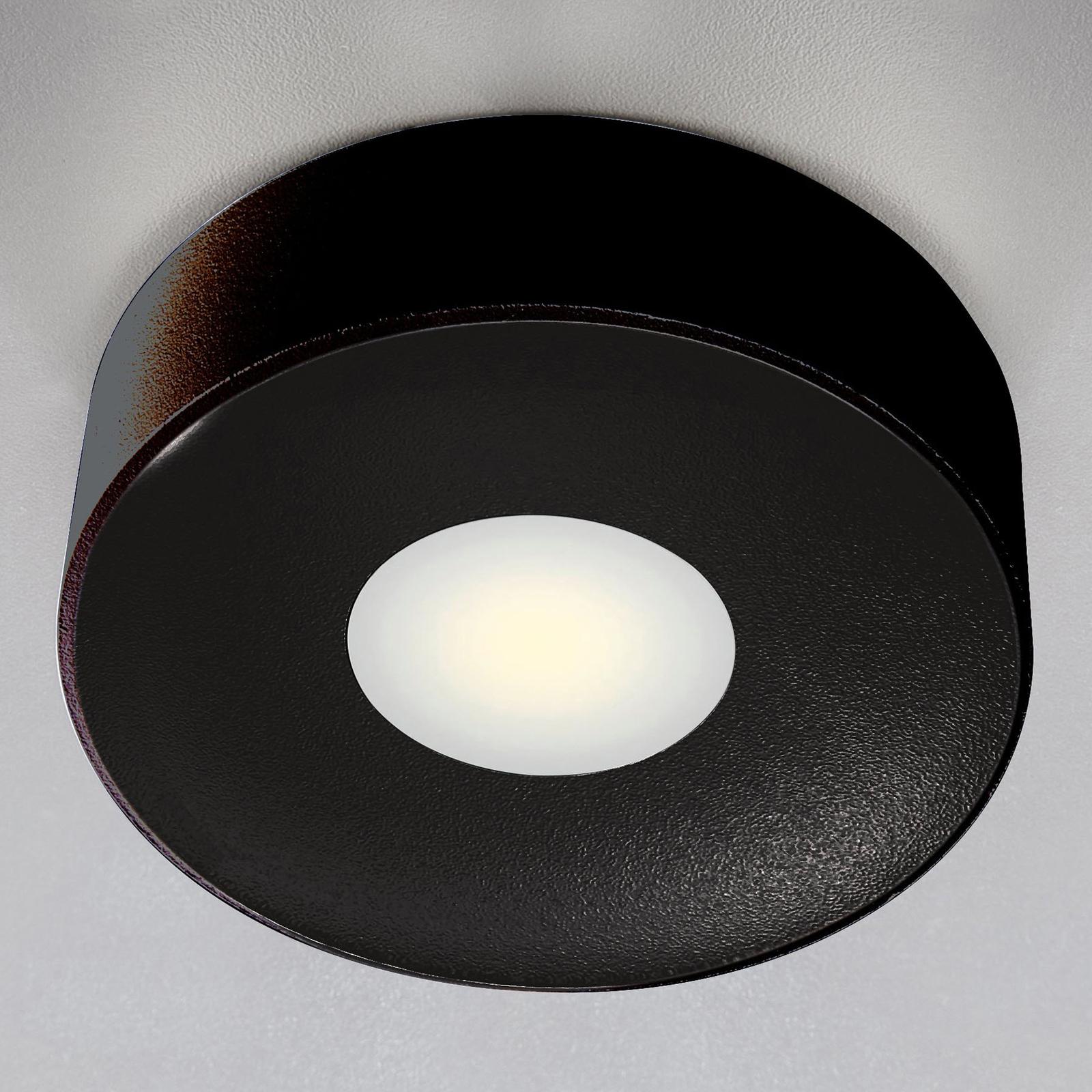 Lampa sufitowa zewnętrzna LED Girona, antracytowa