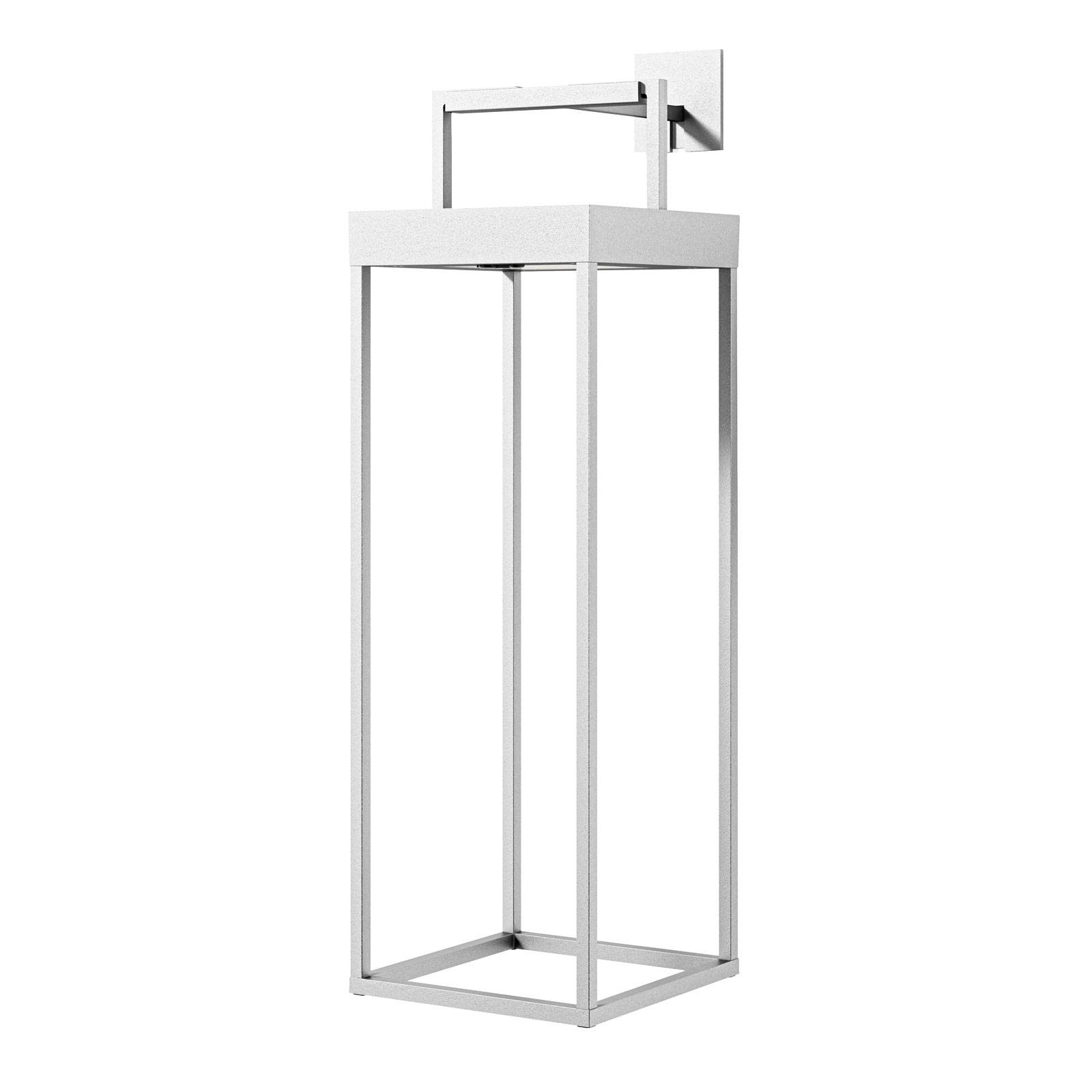 Lucande Lucande Lynzy solárna LED lampa, biela, 58,3 cm