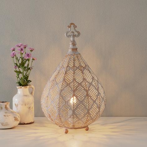 Lampa stołowa LED Nabila, orientalny kształt