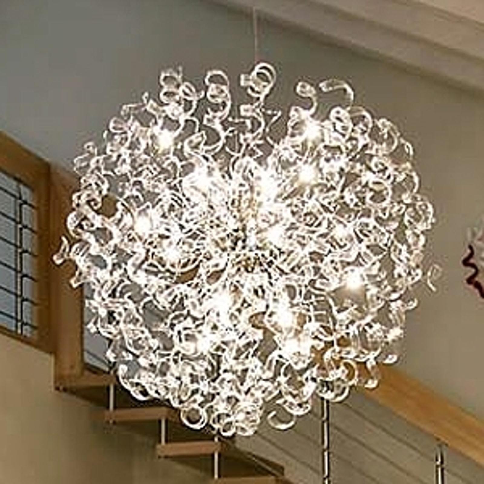 Innovatieve hanglamp Crystal Kugel, 115 cm