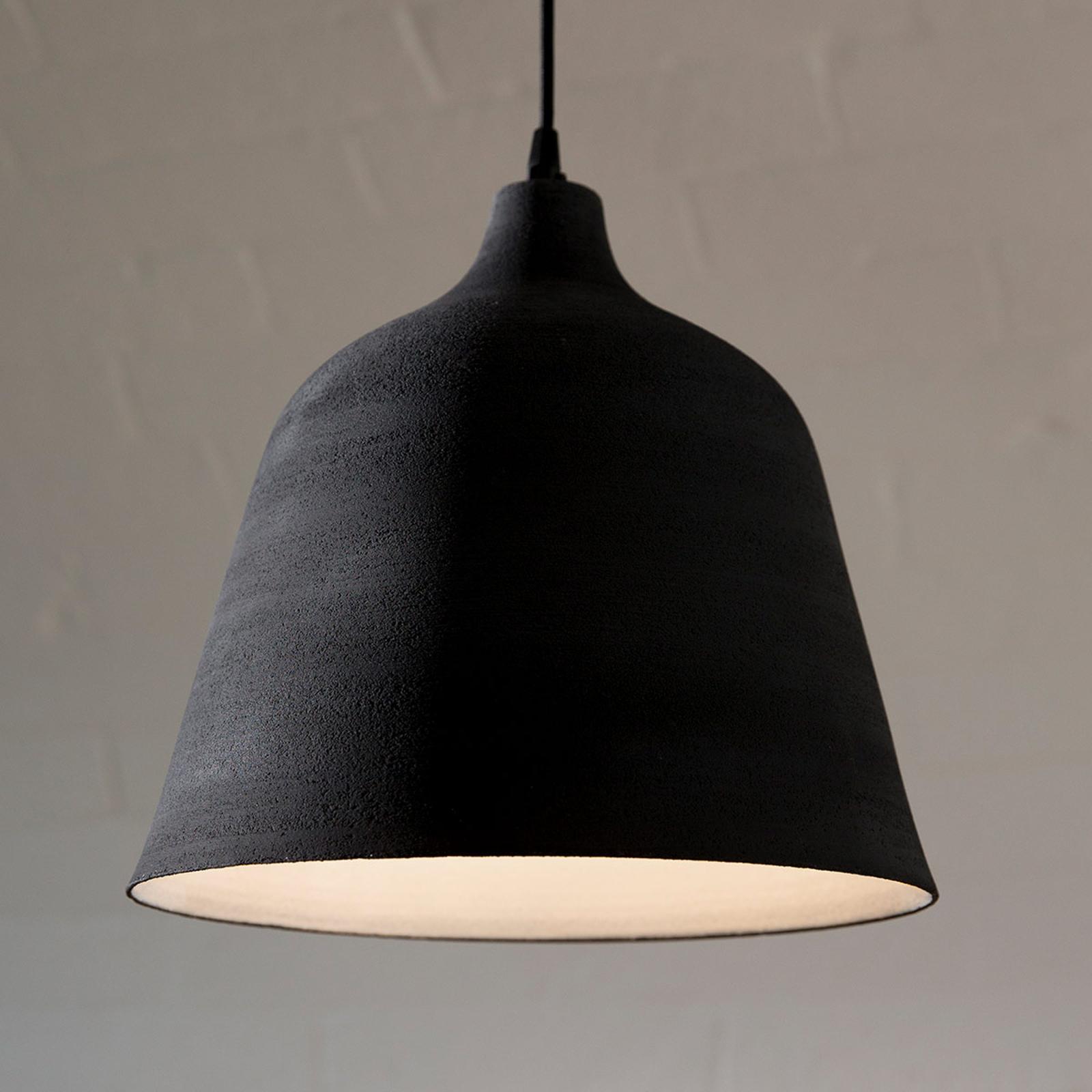 Karman T-Black – designerska lampa wisząca, 31cm