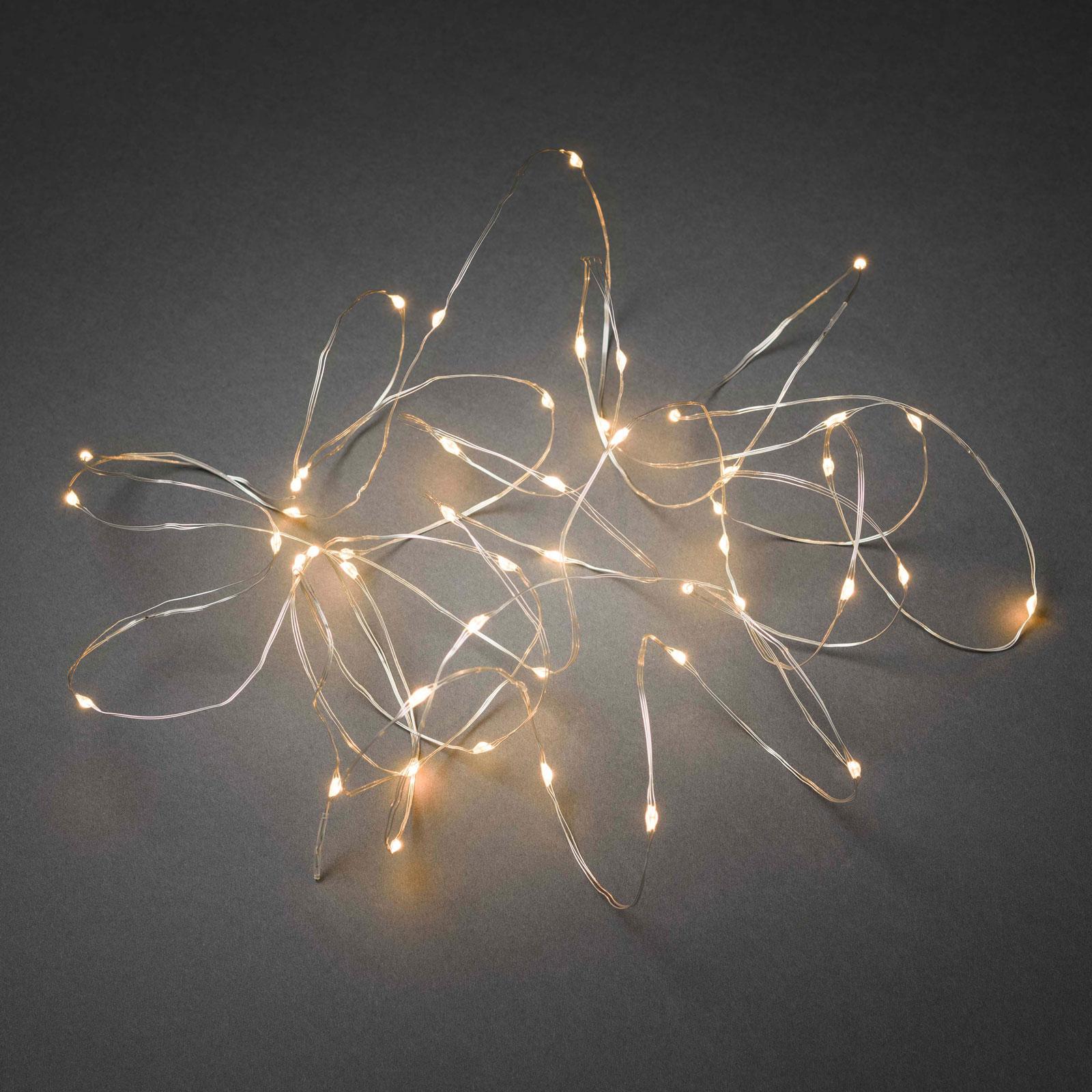 LED-lyslenke Dråper, app-kontrollerbar, 100 lk