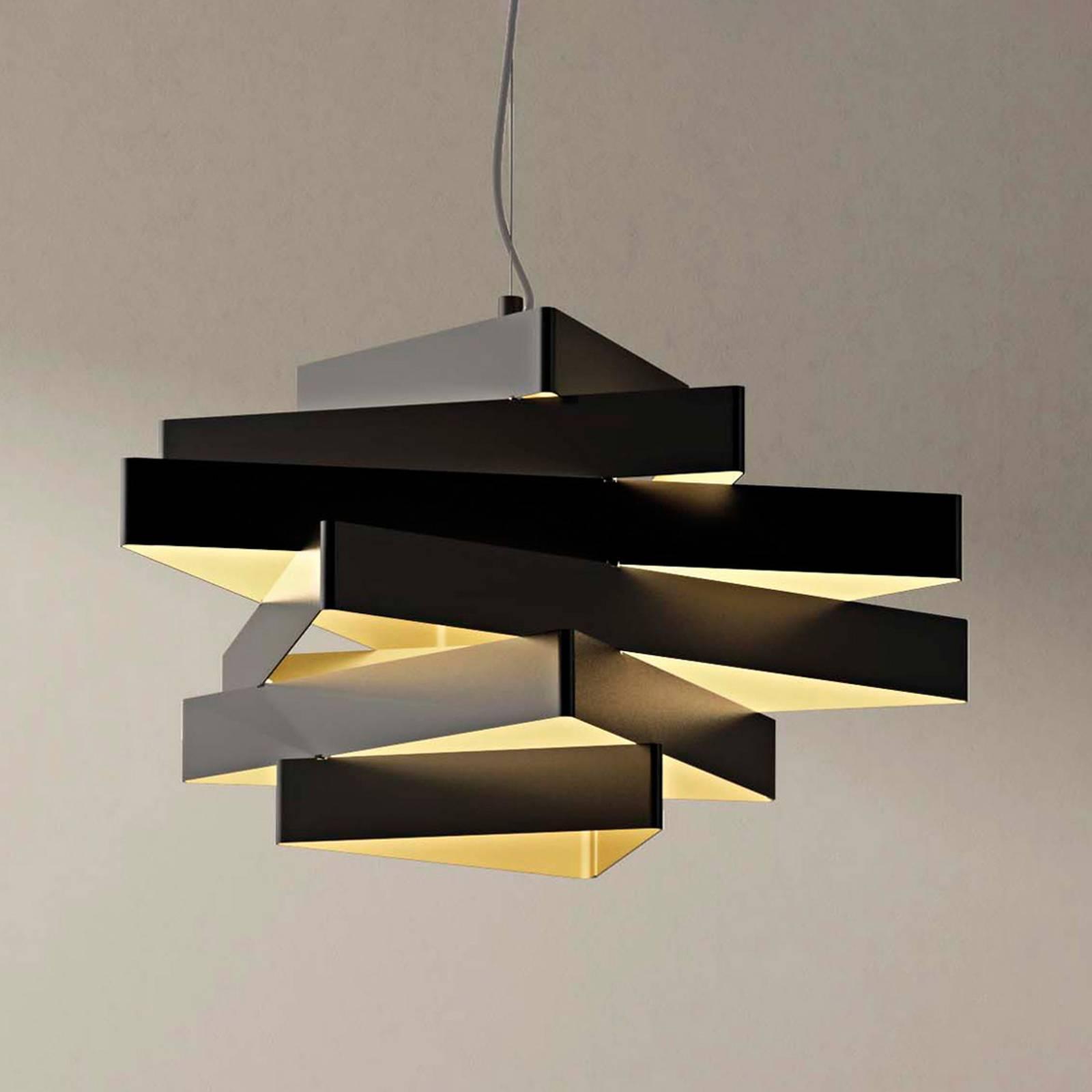 Abstracte hanglamp Miles met driehoeken