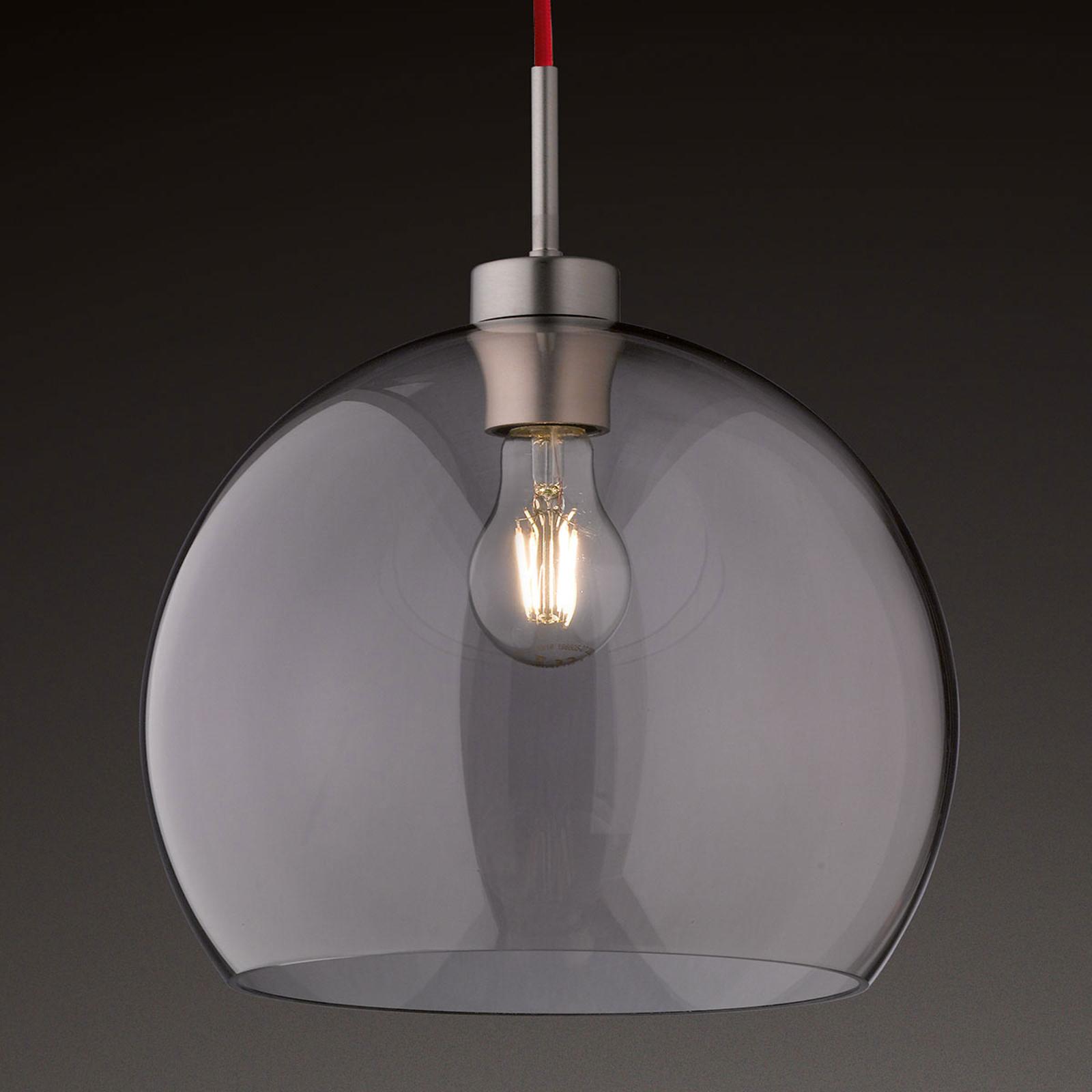 Glas-hanglamp Clear, 30 cm