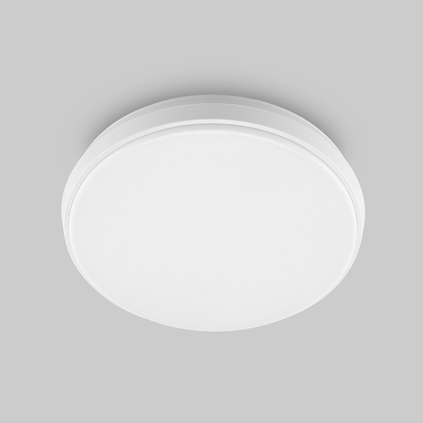 Arcchio Brady LED plafondlamp, wit, rond, 25 cm