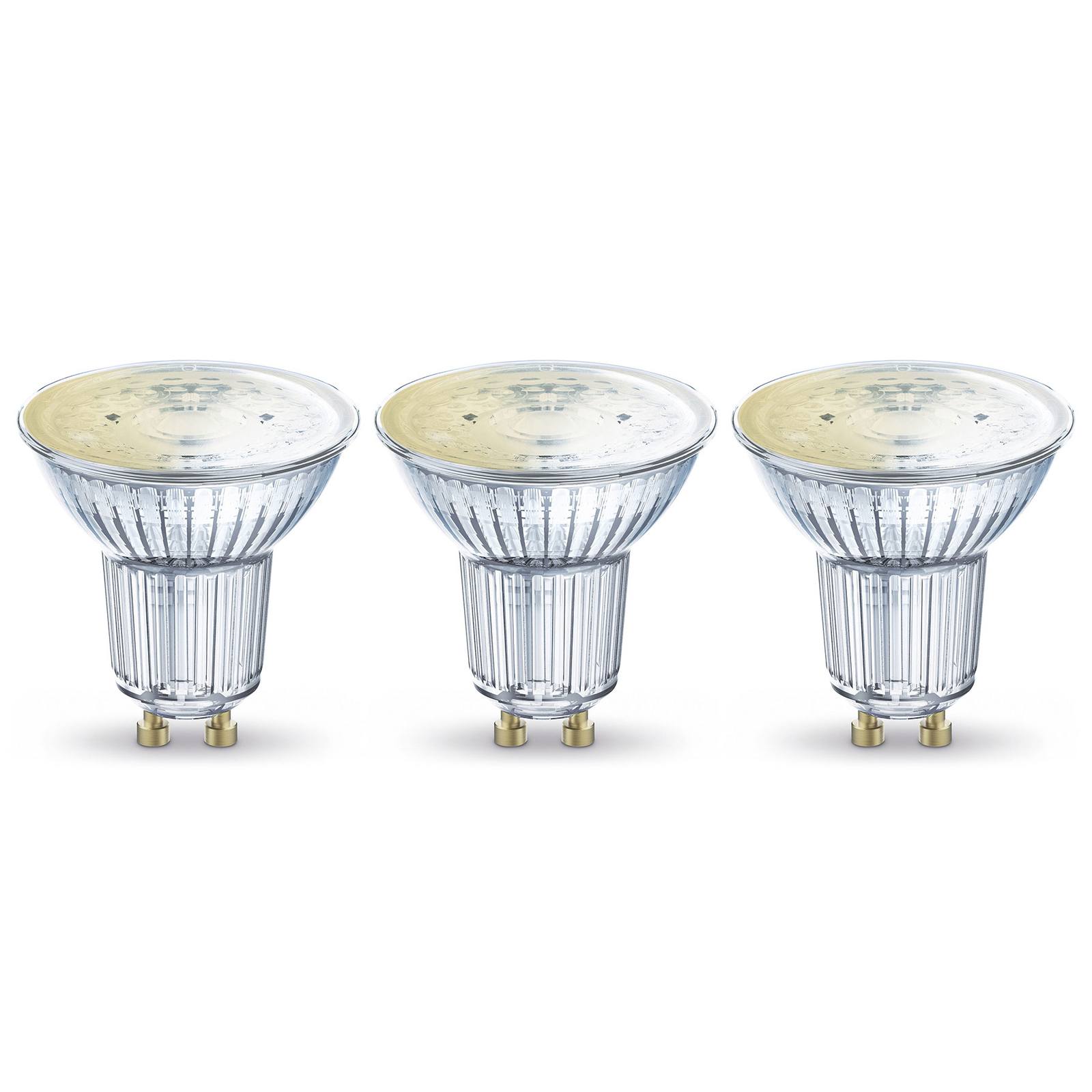LEDVANCE SMART+ WiFi GU10-Reflektor 5W 45° 827 3er