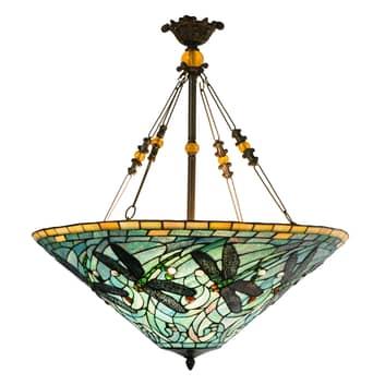 Hanglamp 5975, bont Tiffany-design