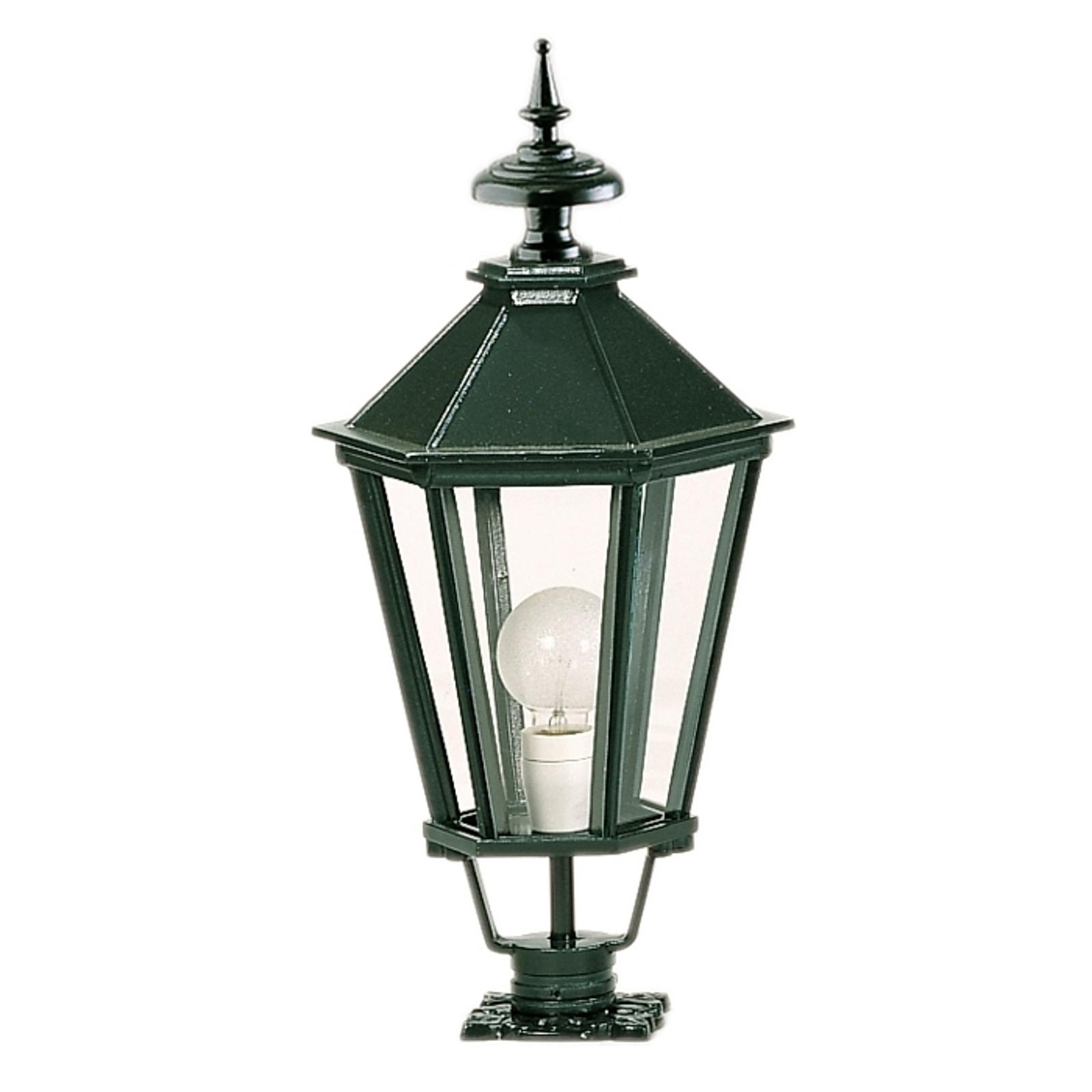 Luminaire pour socle hexagonal K7b vert