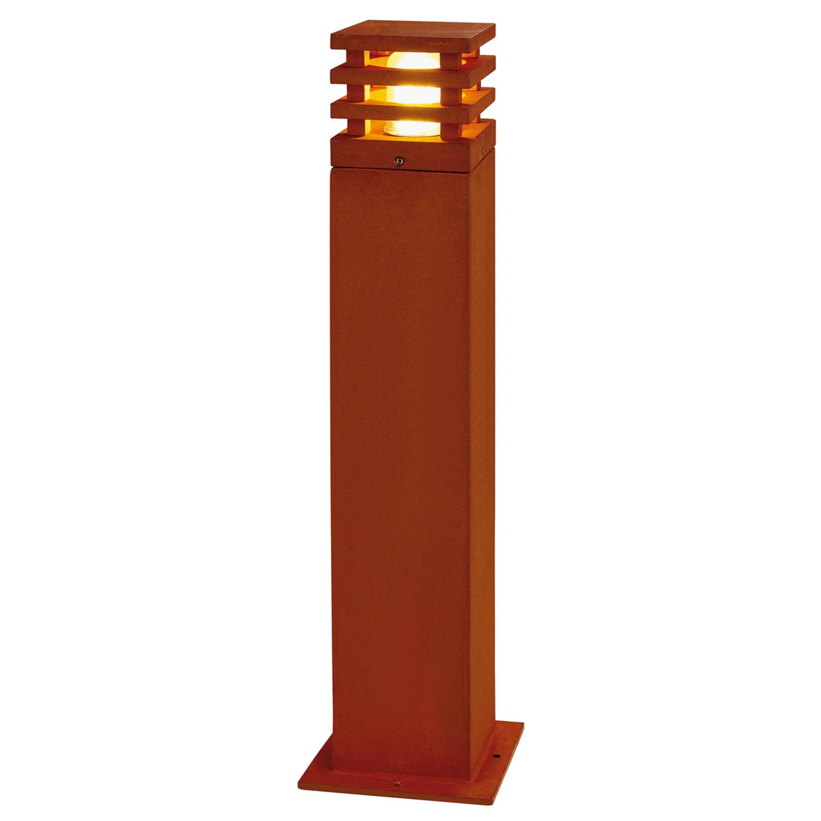 Rusty Square Path Light High-Quality_5502825_1