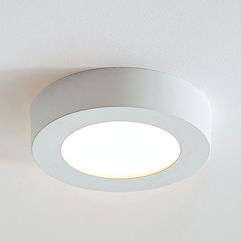 LED-Deckenlampe Marlo weiß 3000K rund 18,2cm