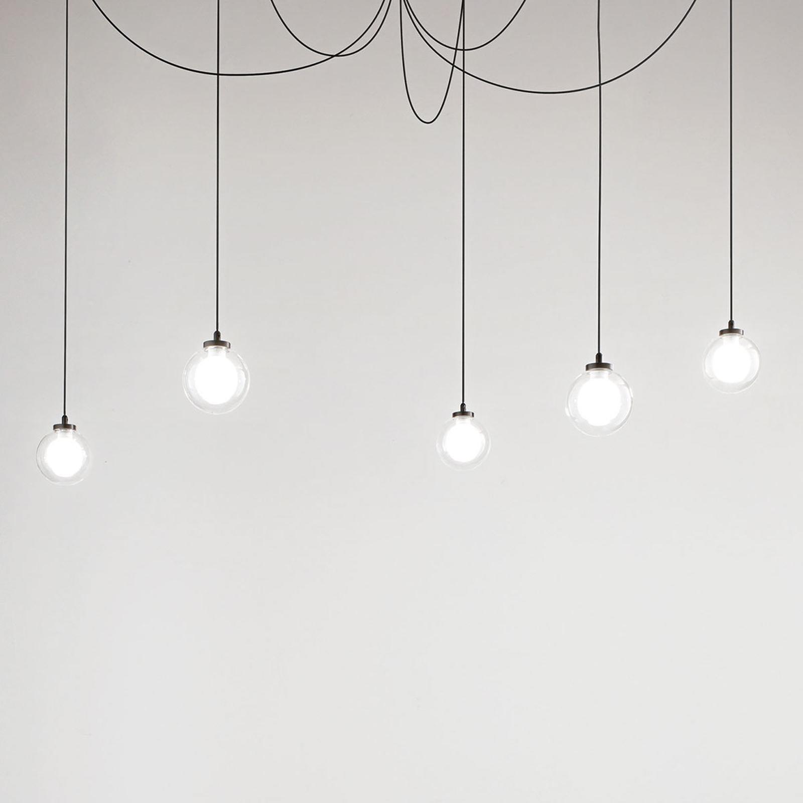 LED Hängeleuchte Blog, 5 flammig