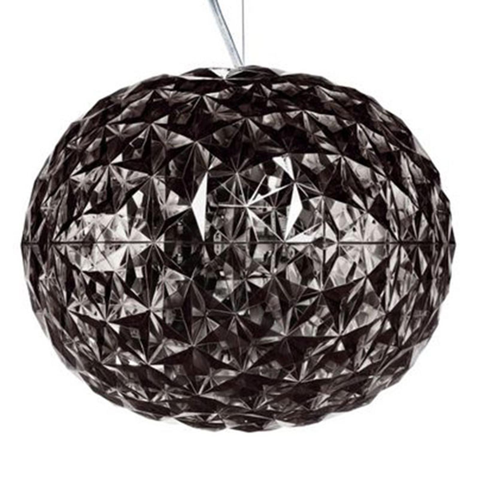 Kartell Planet - LED závěsné světlo, kouřově šedá