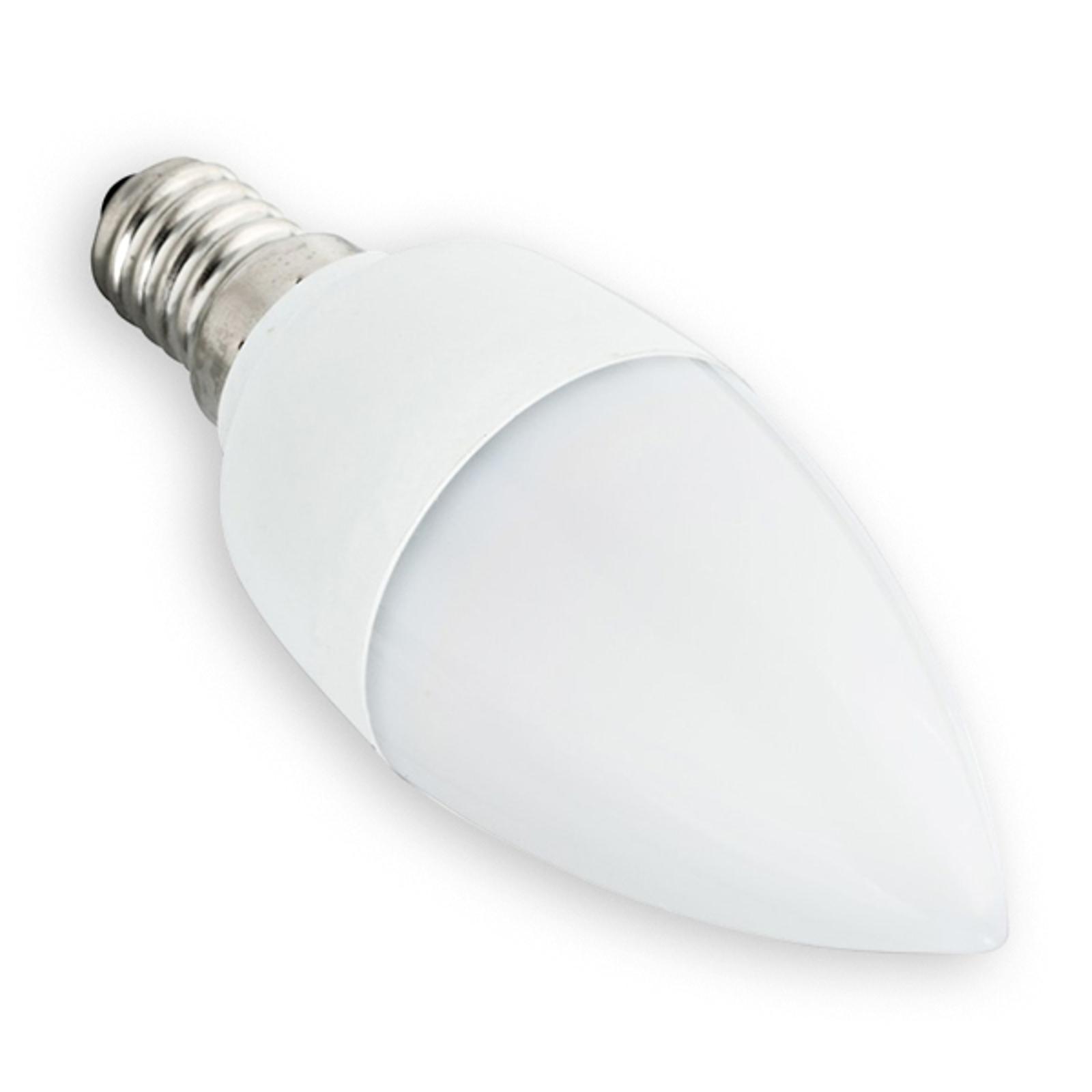 LED-Kerzenlampe E14 5,5W 927 matt dimmbar