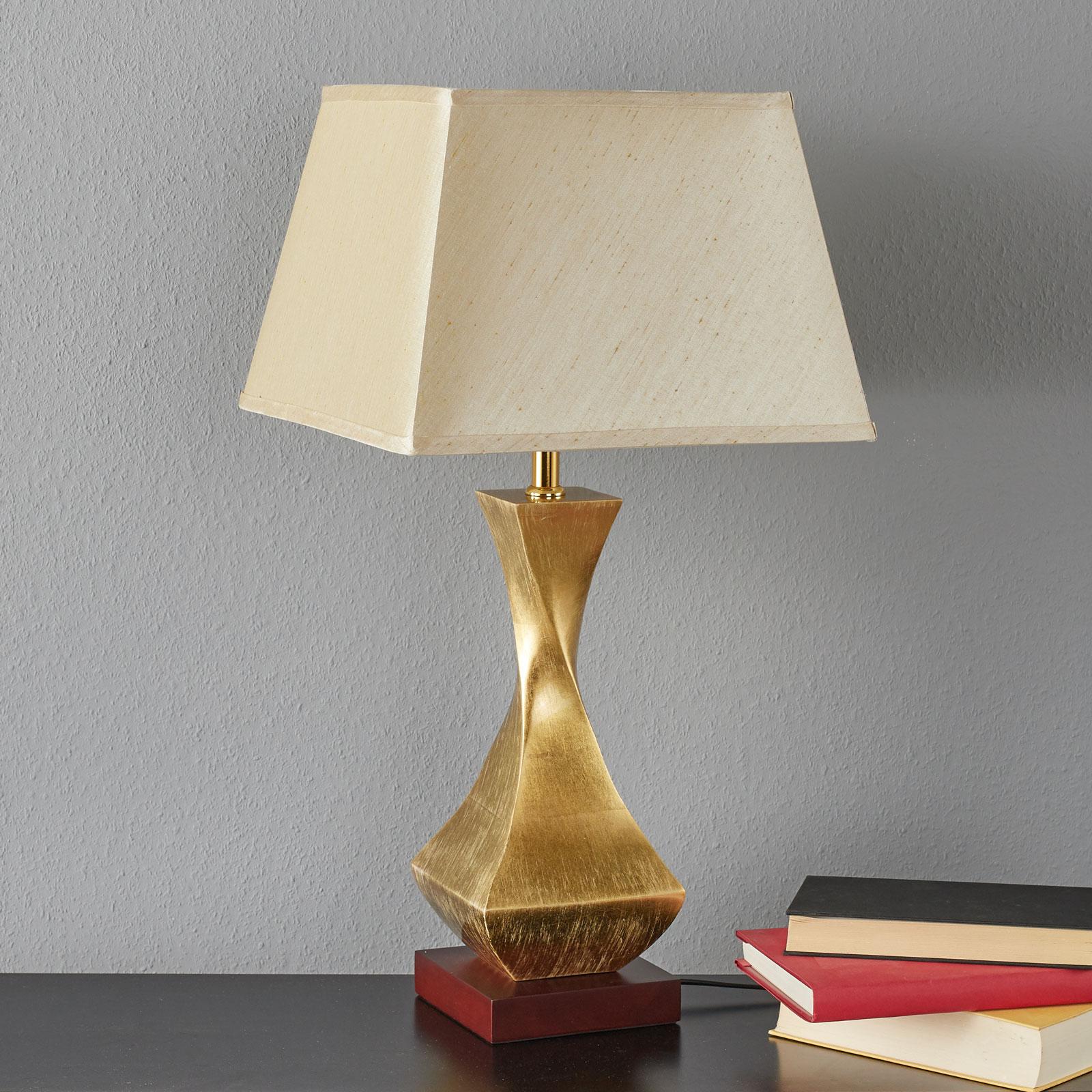 Acquista Originale Lampada Da Tavolo Deco Con Base Dorata Lampade It