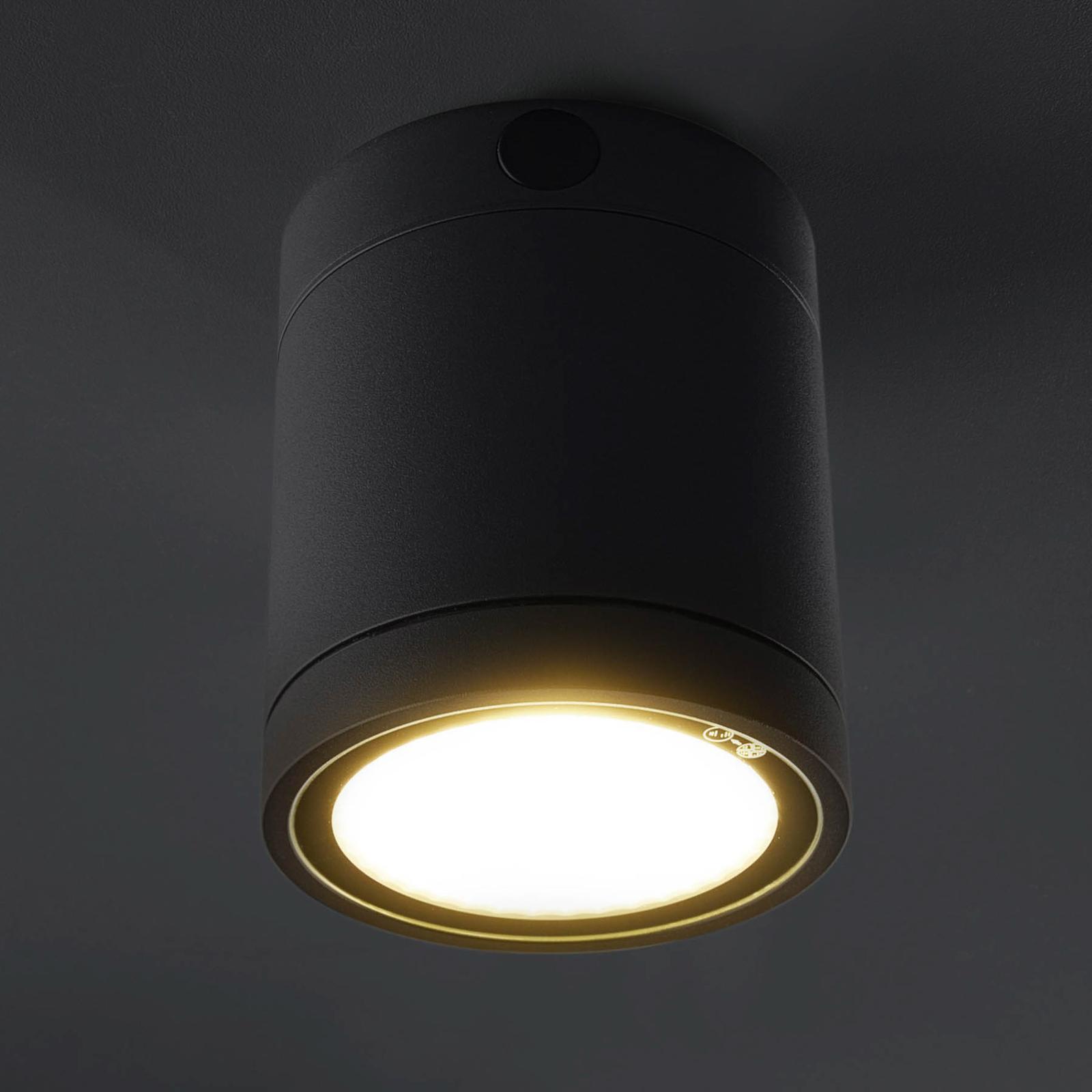LED-Deckenleuchte Negro für außen