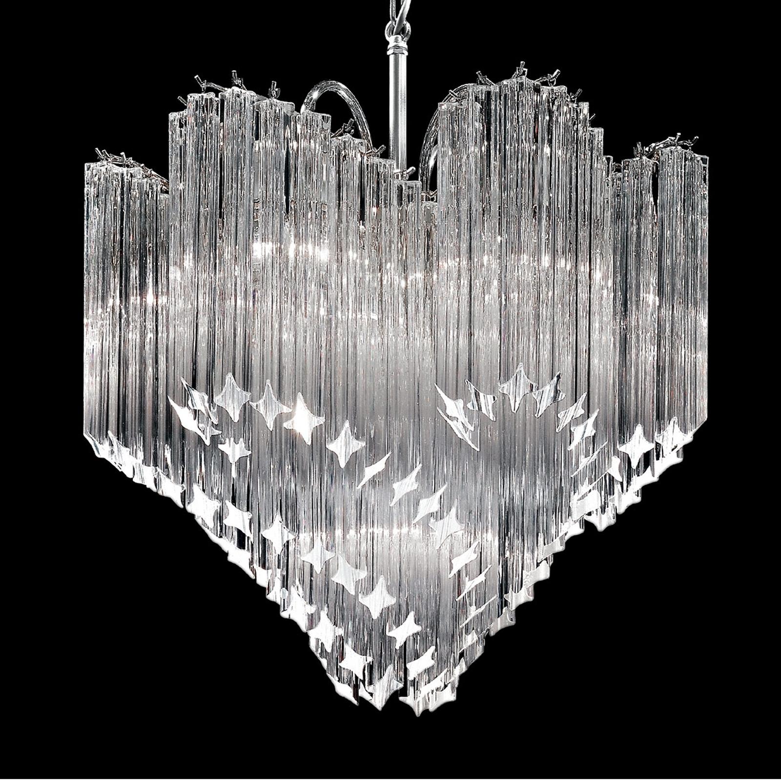 Kristallen hanglamp Chiocciola