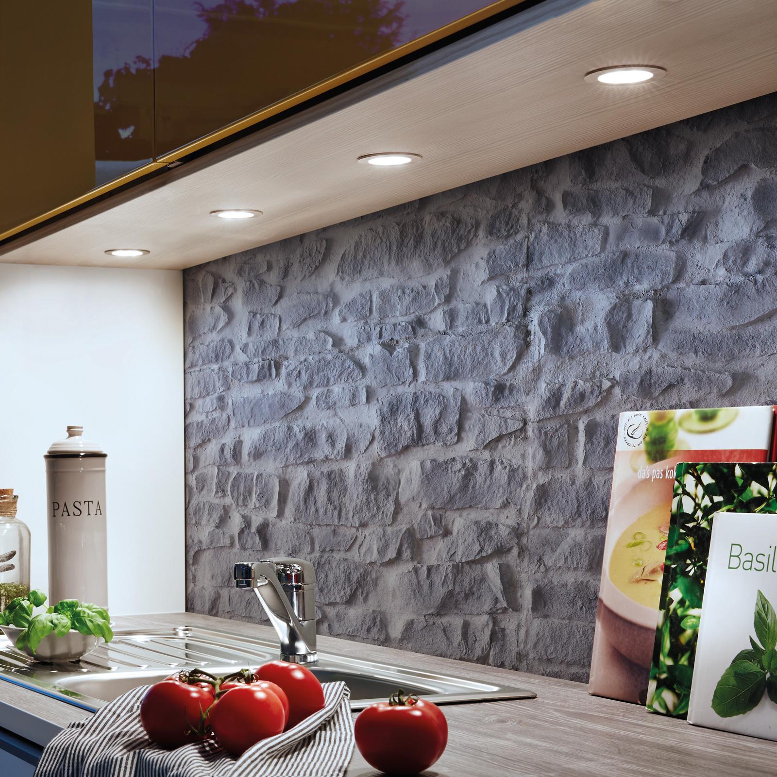 Dynamic FR 55 LED-møbelindbygningslampe
