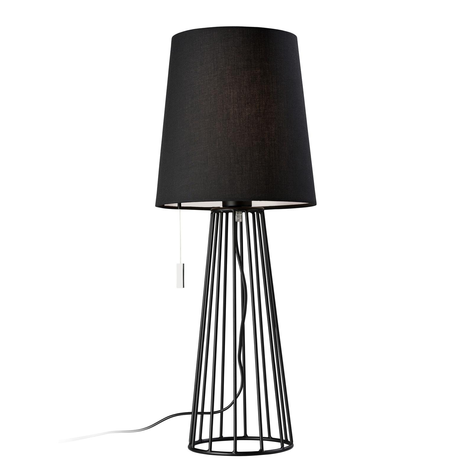 Villeroy & Boch Mailand stolní lampa černá