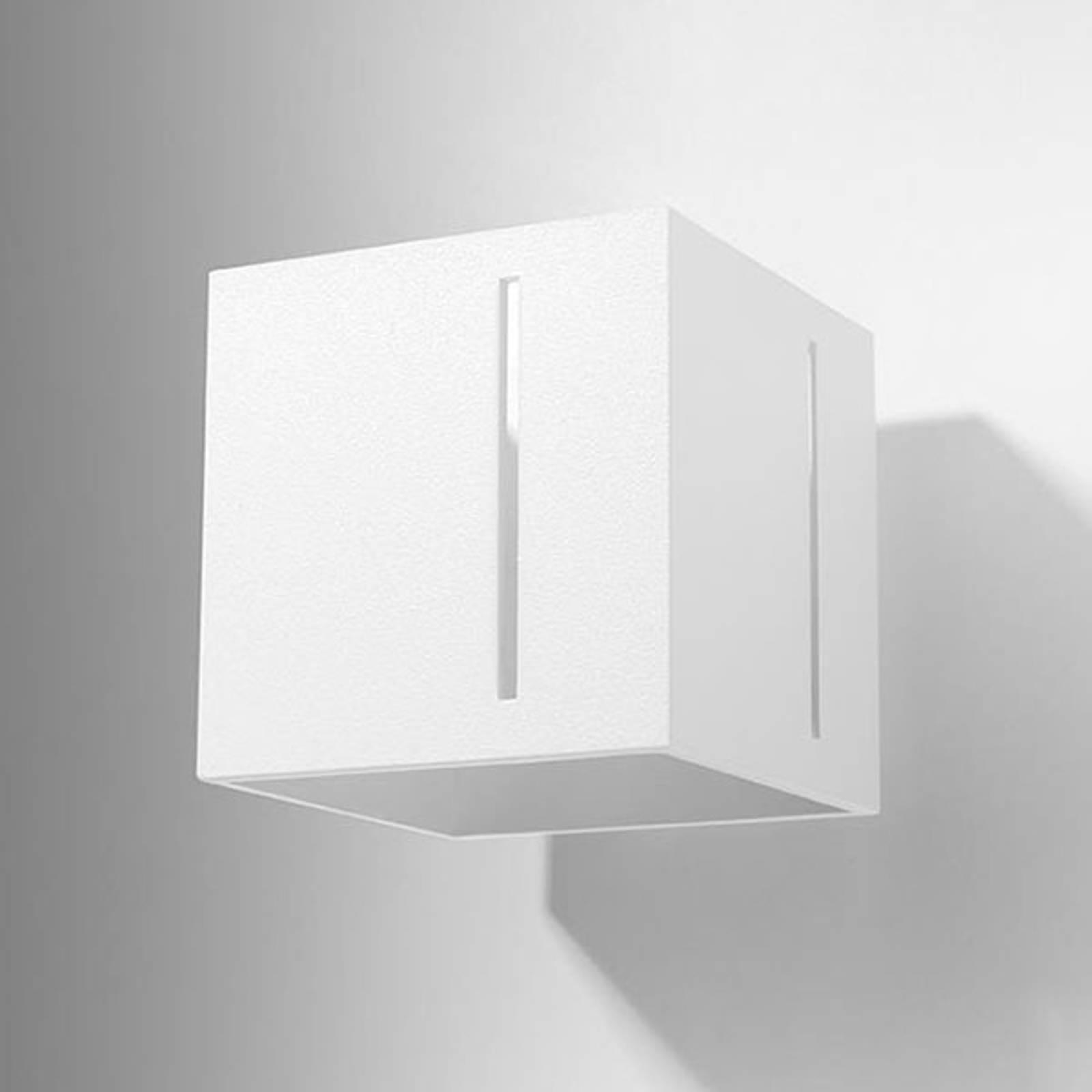Wandleuchte Topic up/down aus Aluminium, weiß