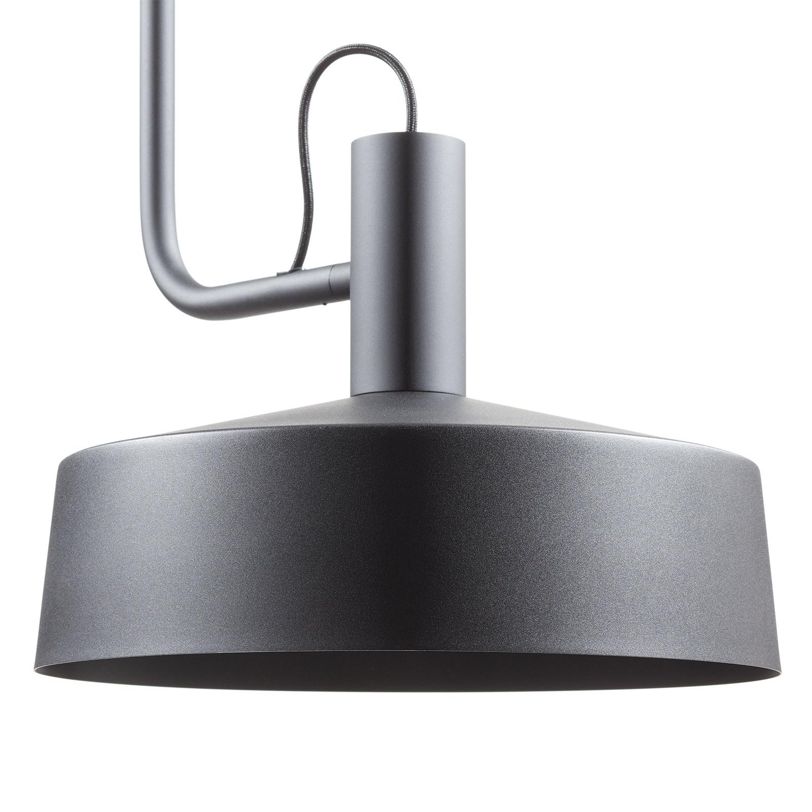 WEVER & DUCRÉ Roomor Hänge GU10 1fl 40,5cm schwarz