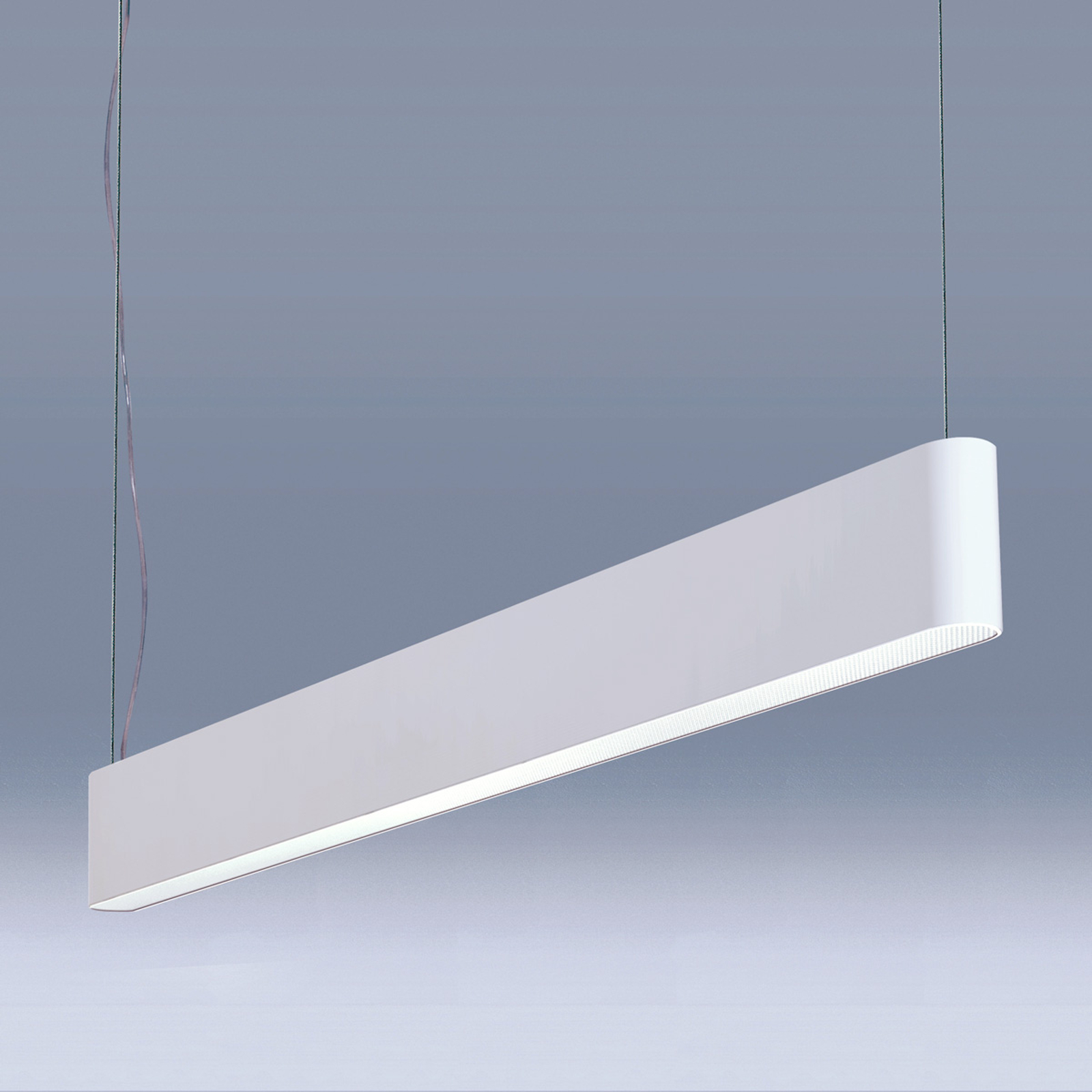 Suspension LED Caleo-P4 blanche - 147,5 cm 76W