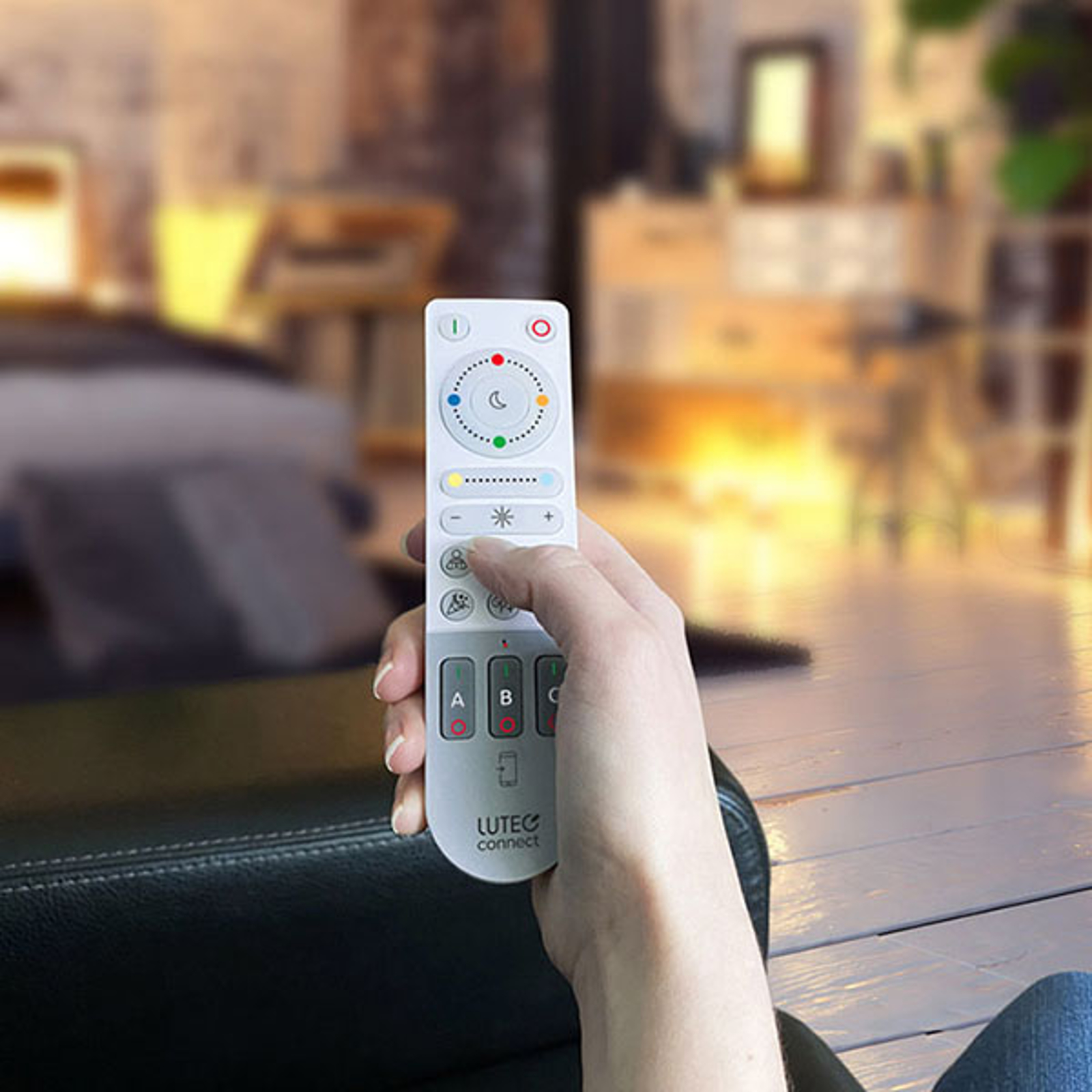 Remote fjernkontroll for Smart Home LUTEC connect