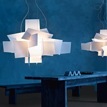 Foscarini Big Bang LED-bakgrunnsbelysning, hvit