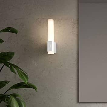 LED-vegglampe til bad Helva Night, hvit