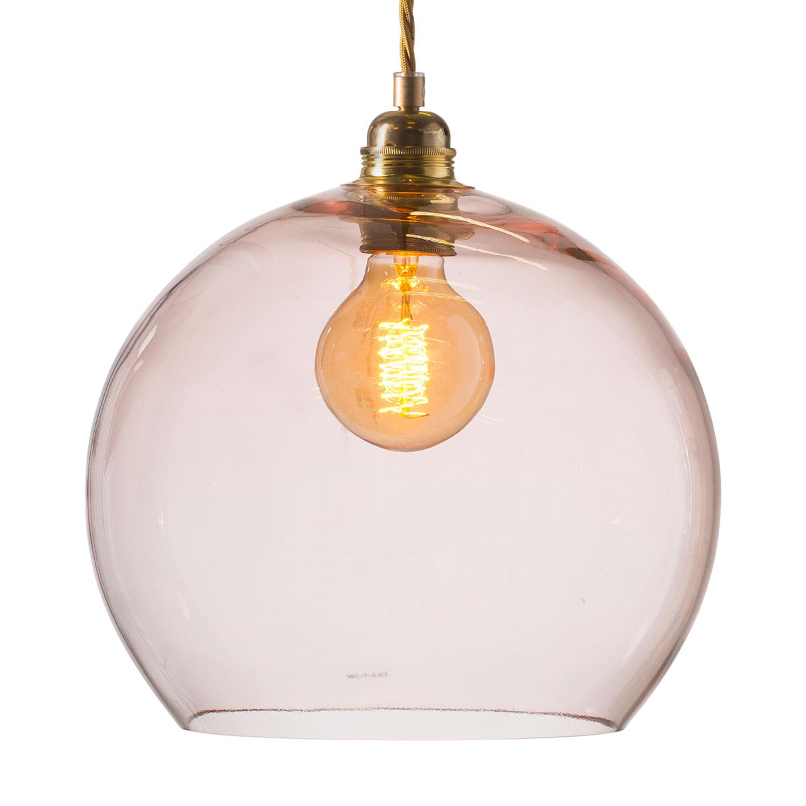 EBB & FLOW Rowan hanglamp rosé-goud Ø 28cm