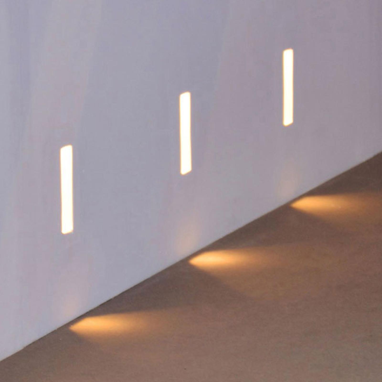 LED-Wandeinbauleuchte Zementos aus Gips