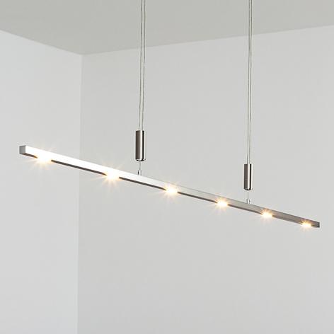 LED-riippuvalaisin Tolu korkeussäädöllä, 140 cm