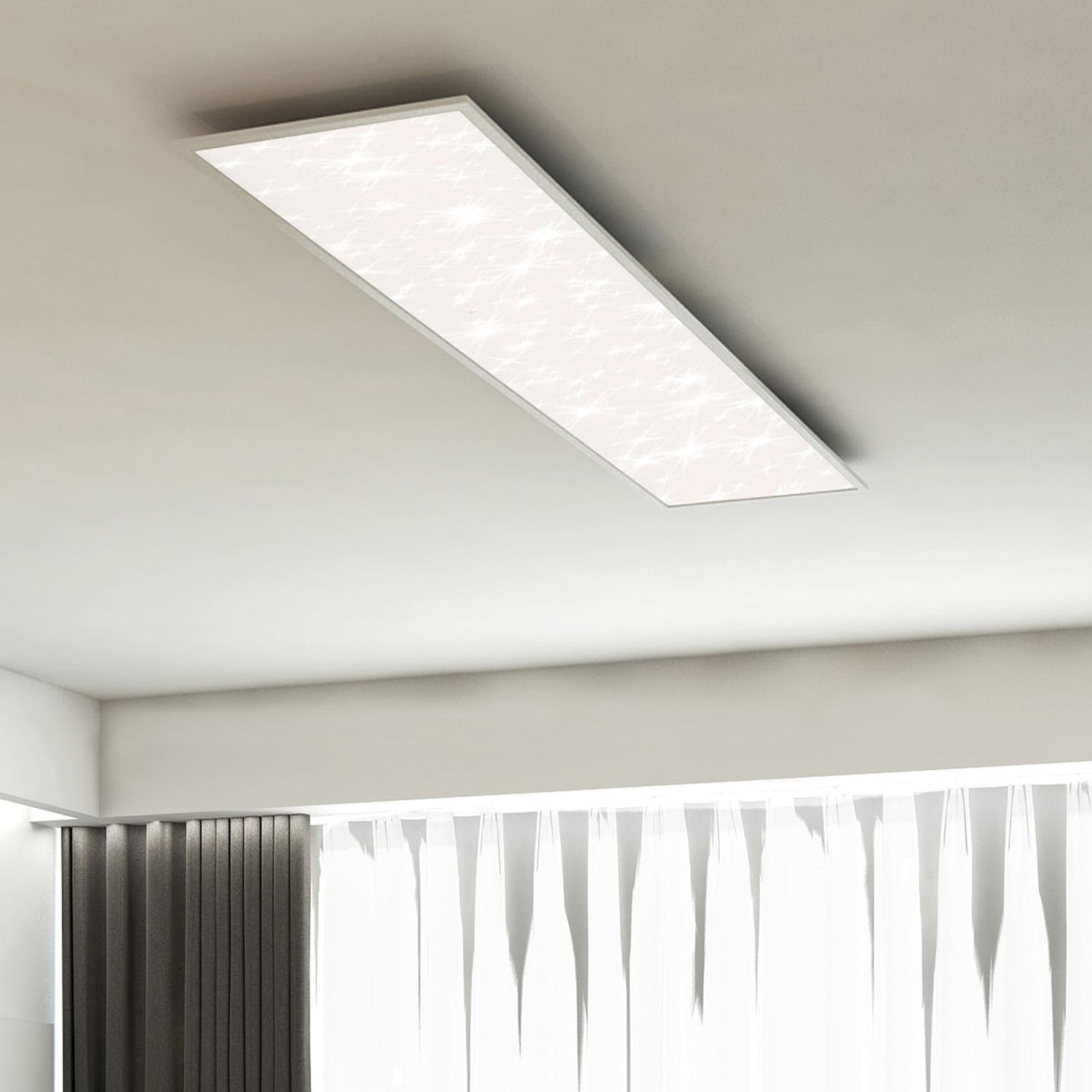 LED-Sternenhimmel-Panel Pallas CCT, 100 x 25 cm