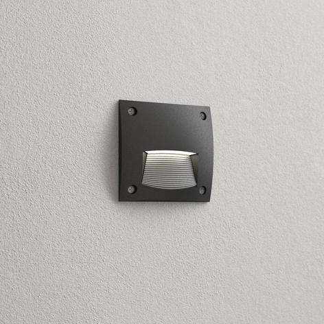 Einbaulampe Leti 100 Square-ST schwarz, 3.000 K