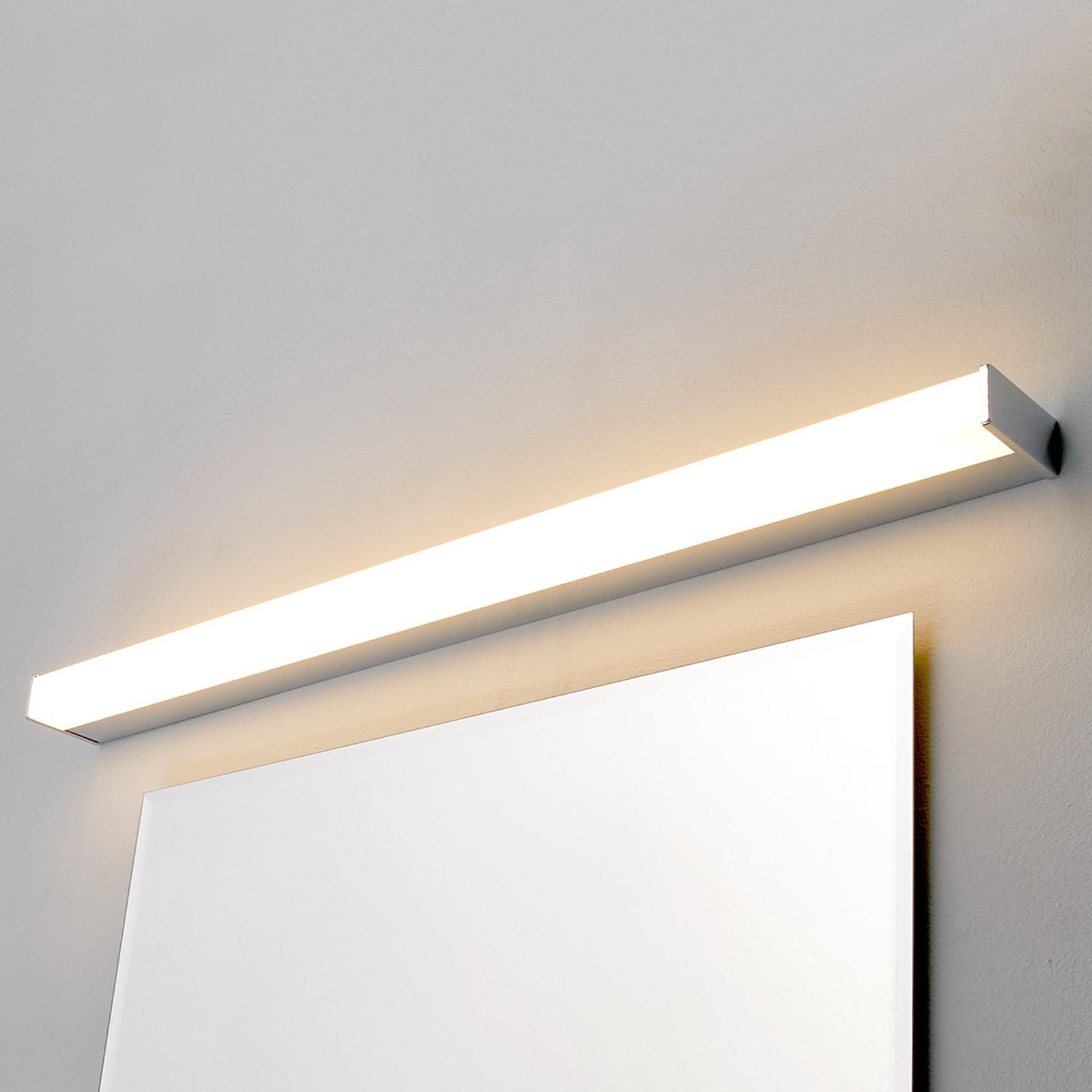 Philippa LED-lampe til spejl og bad kantet 88cm