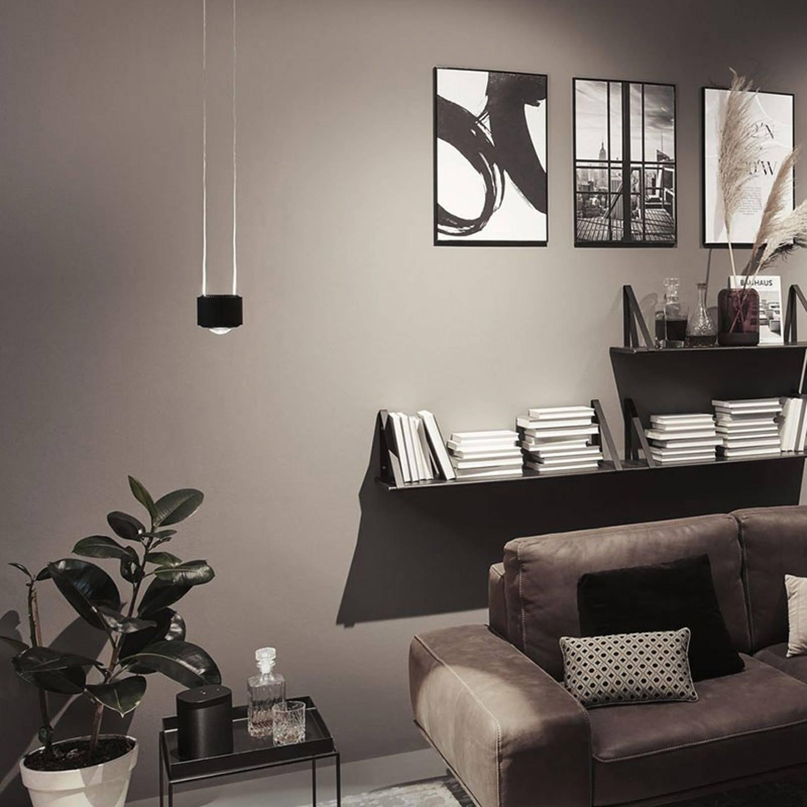 Paulmann URail Aldan LED hanglamp, zwart