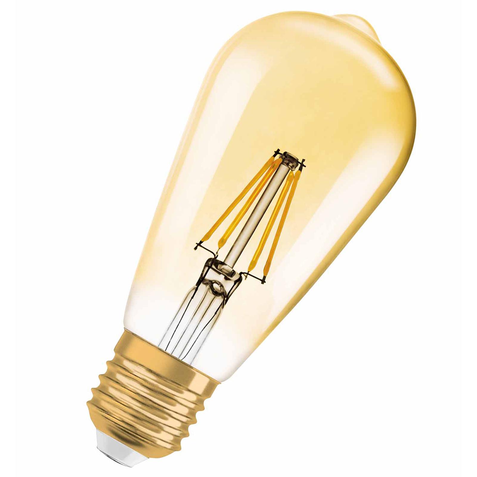 LED-Rustikalampe E27 7W 824 Vintage Edition 1906