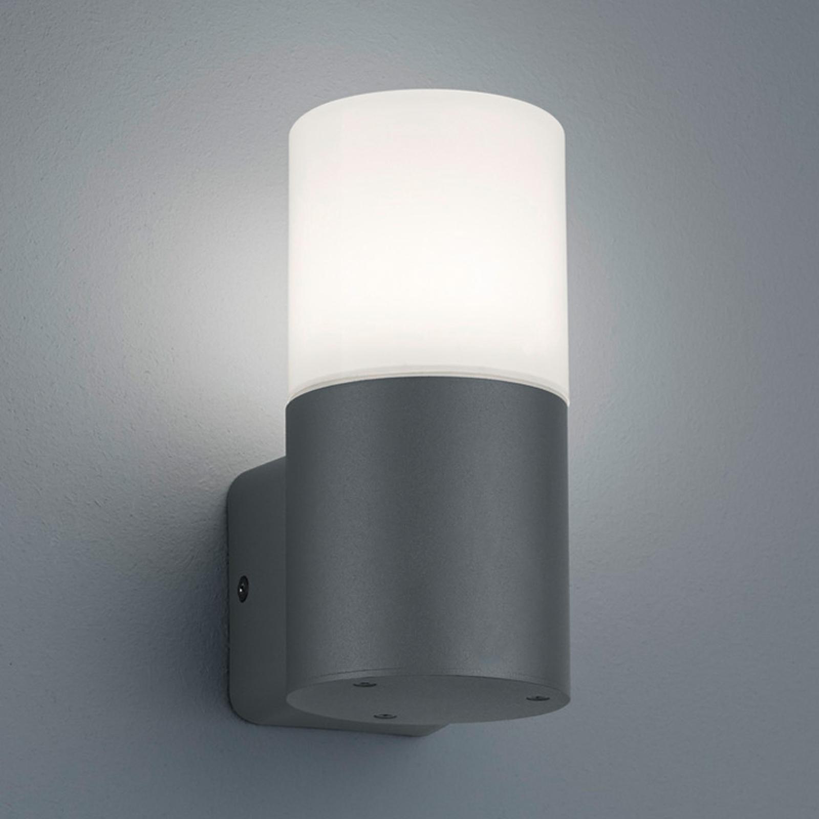Hoosic udendørs væglampe, 1 lyskilde, antracit