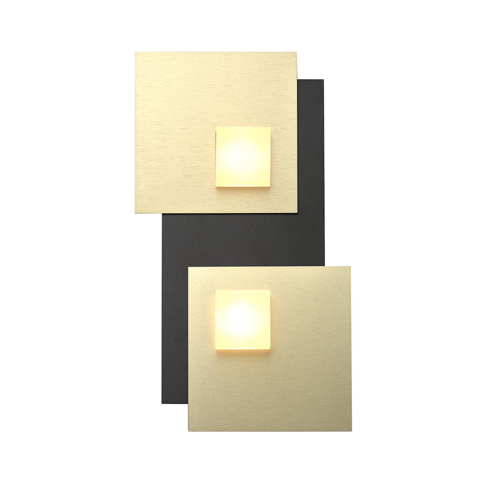 Bopp Pixel 2.0 LED-Deckenleuchte 2-flammig schwarz